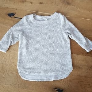 H&M small boucle sweater